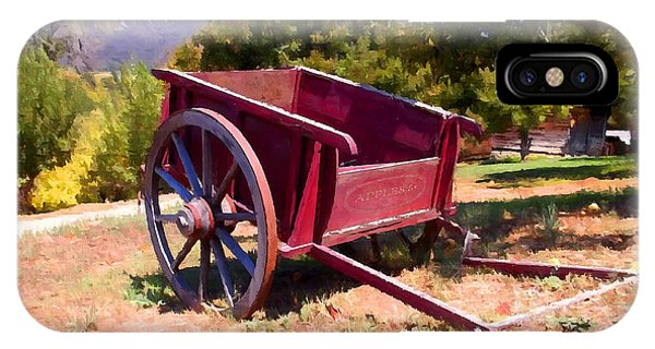 The Old Apple Cart IPhone Case
