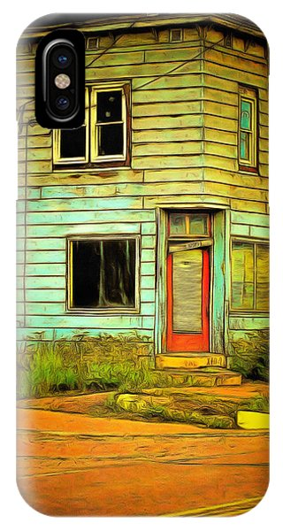 The Old Barber Shop IPhone Case