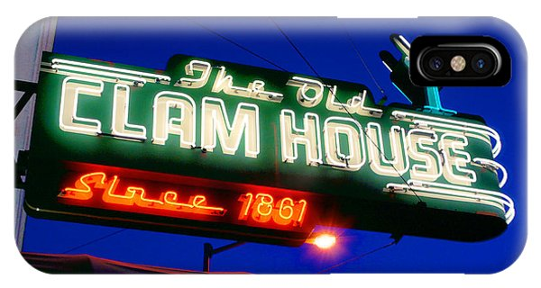 The Old Clam House IPhone Case