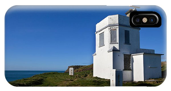 Dunmore East iPhone Case - The Old Coastguard Station, Dunmore by Panoramic Images