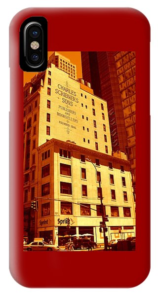 The Old Good Days In Manhattan IPhone Case
