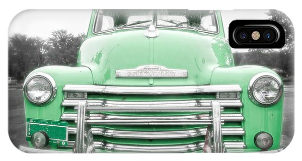 The Old Green Chevy Pickup Truck IPhone Case