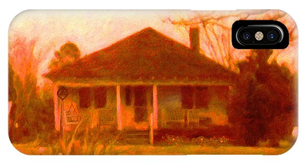 The Old Home Place IPhone Case