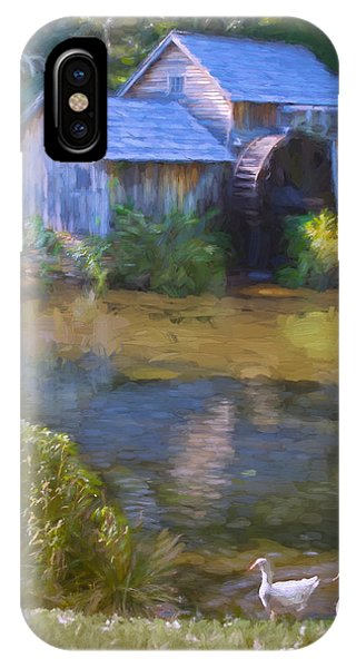 The Old Mill At Mabry IPhone Case