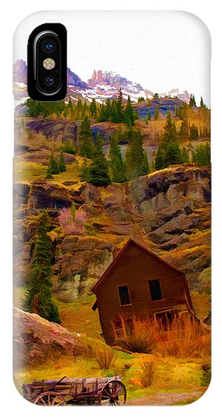 The Old Miners House IPhone Case