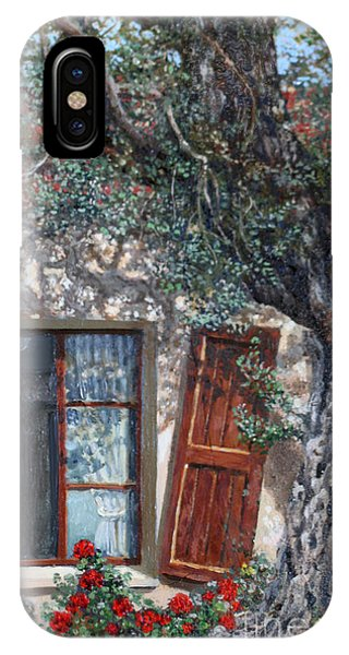The Old Olive Tree And The Old House Phone Case by Miki Karni