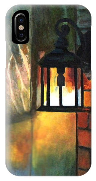 The Old Porch Light IPhone Case