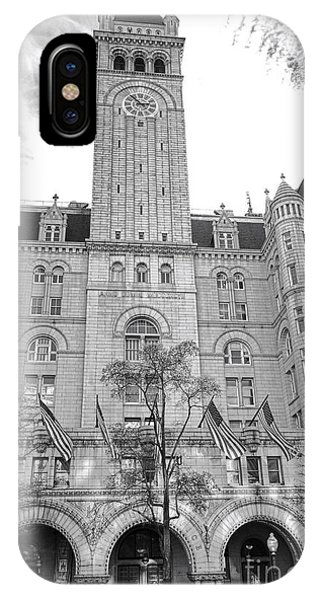 D.c. iPhone Case - The Old Post Office  by Olivier Le Queinec