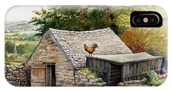 iPhone Case - The Old Poultry House by Anthony Forster