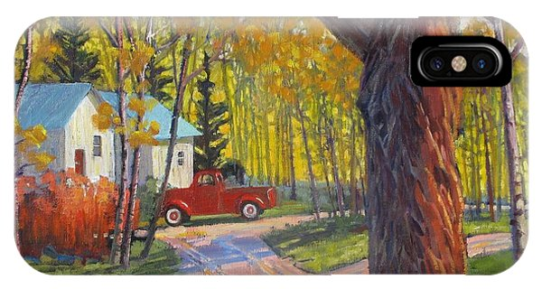 The Old Red Pickup Phone Case by Susan McCullough