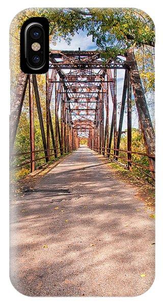 The Old River Bridge IPhone Case