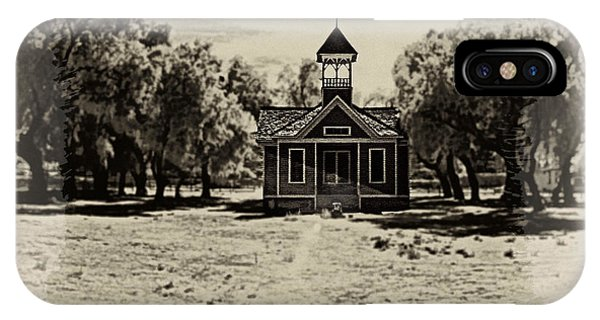 The Old Schoolhouse IPhone Case