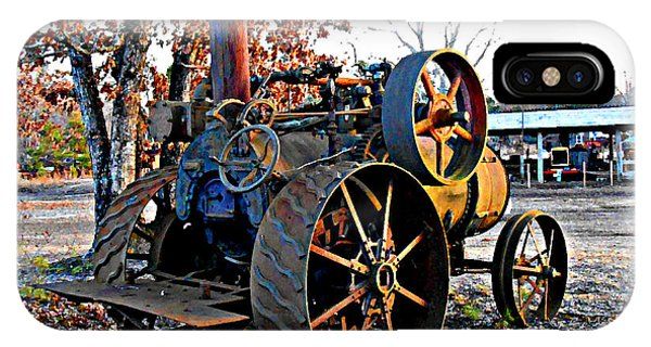 The Old Steam Tractor IPhone Case