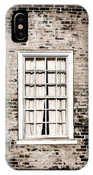 Window Pane iPhone Case - The Old Window by Olivier Le Queinec