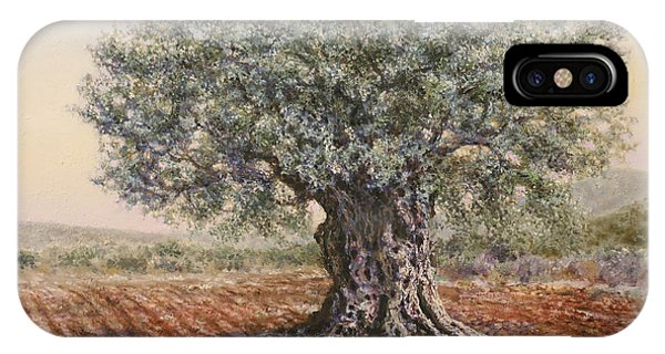 The Olive Tree In The Valley IPhone Case