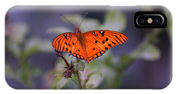The Orange Wings IPhone Case