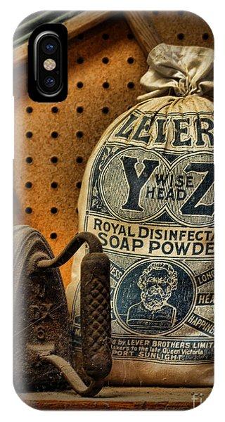 The Original Laundromat - Self-service Soap Powder IPhone Case