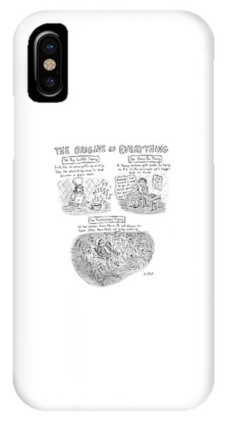 'the Origins Of Everything' IPhone Case