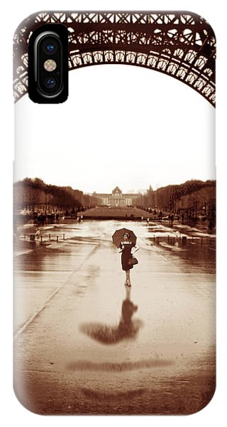 The Other Face Of Paris IPhone Case
