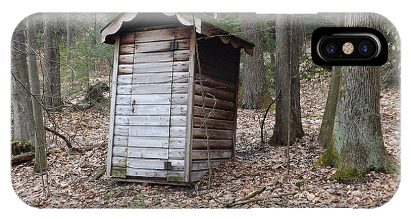 The Outhouse Phone Case by Michael Sokalski