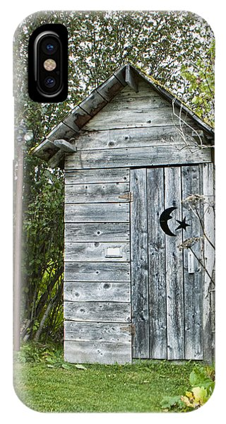 The Outhouse IPhone Case