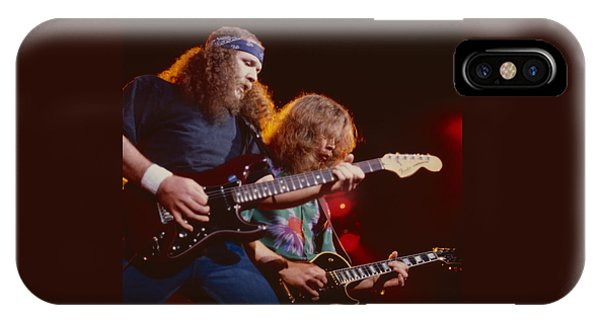 The Outlaws - Hughie Thomasson And Billy Jones IPhone Case