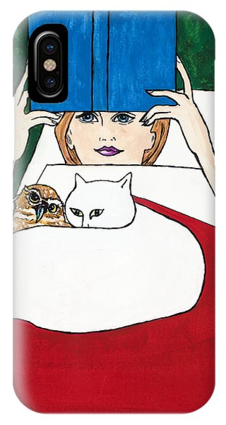 The Owl And The Pussycat Phone Case by Dale Bernard