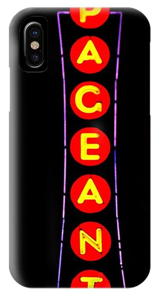 The Pageant In Neon IPhone Case