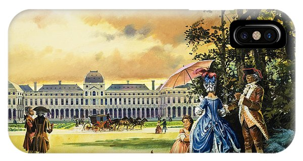 Concorde iPhone Case - The Palace Of The Tuileries by Andrew Howat