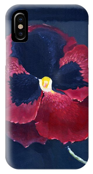 The Pansy IPhone Case
