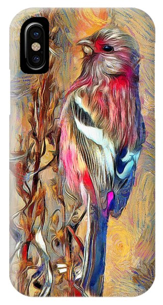 The Paradise Bird IPhone Case