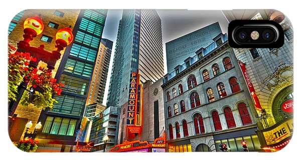 The Paramount Center And Opera House In Boston IPhone Case