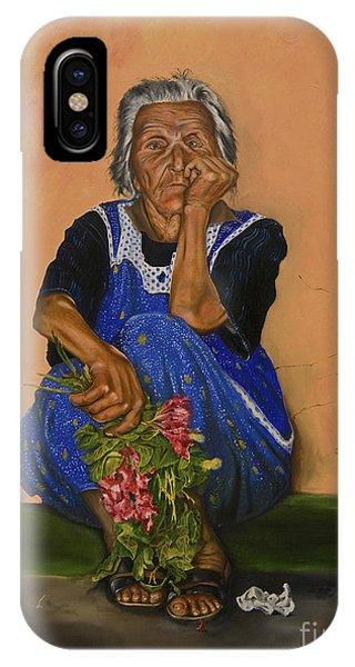 The Parga Flower Seller IPhone Case