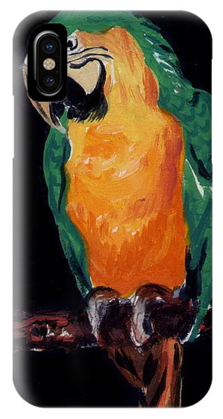 The Parrot IPhone Case