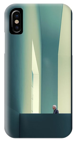 Teal iPhone Case - The Passage by Luc Vangindertael (lagrange)