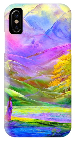 Misty Mountains, Fall Color And Aspens IPhone Case