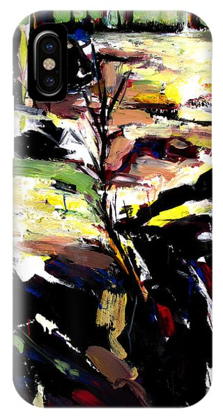 IPhone Case featuring the painting The Path That Took Me To You by John Jr Gholson