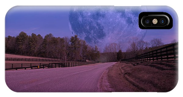 The Peace Moon  IPhone Case