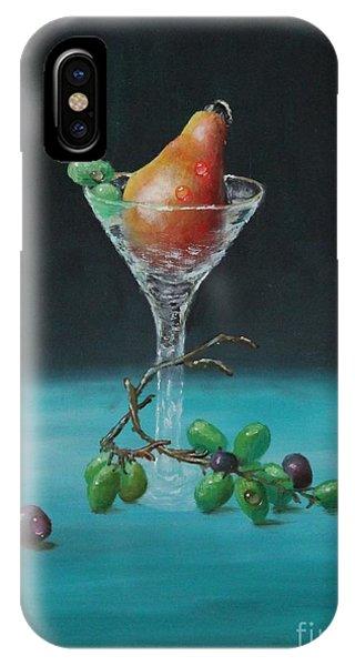 The Pear Martini IPhone Case