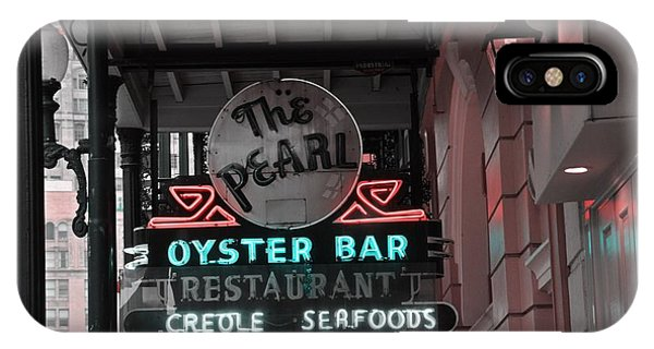 The Pearl Oyster Bar IPhone Case