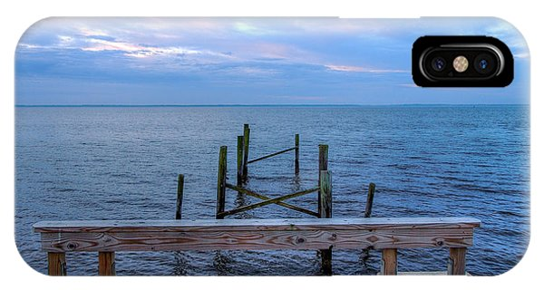 The Pier That Once Was Phone Case by Maurice Smith