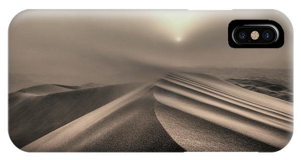 Storm iPhone Case - The Perfect Sandstorm by Michel Guyot