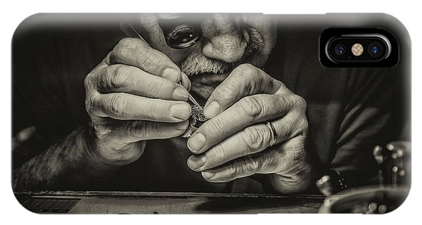 Men iPhone Case - The Perfectionist by Mandru Cantemir