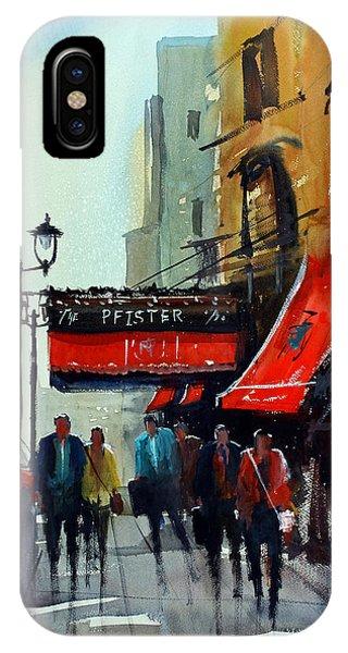The Pfister 2 - Milwaukee IPhone Case