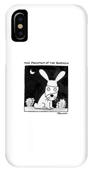 The Phantom Of The Garden IPhone Case