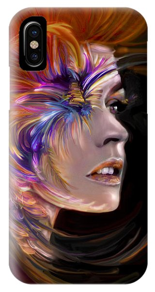 The Phoenix  Fire Flames And Rebirth IPhone Case