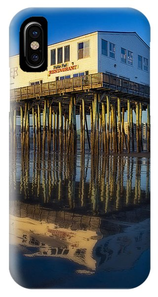 Orchard Beach iPhone Case - The Pier by Susan Candelario