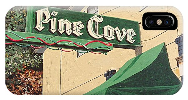 The Pine Cove Phone Case by Paul Guyer