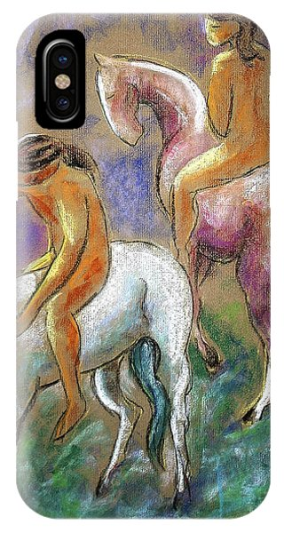 The Pink Horse IPhone Case