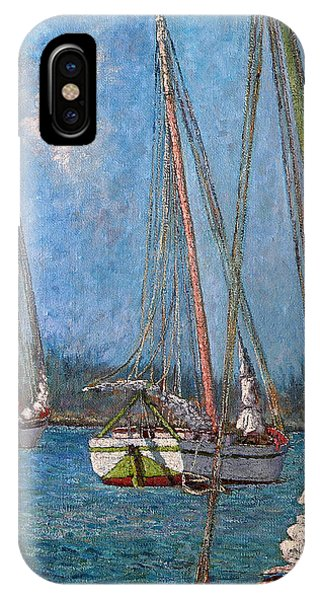 The Pink Mast IPhone Case